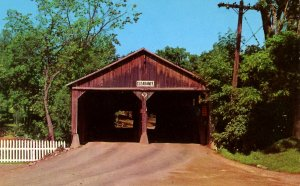 VT - Middlebury.  Pulp Mill Covered Bridge