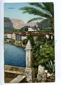 192089 ITALY TORBOLE view Vintage postcard