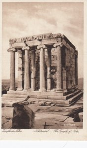 Athens , Greece , 1910-30s ; The Temple of Nike