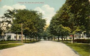 MA - West Brookfield. Cottage Street