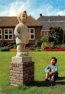 Netherlands Bartje te Assen Boy Statue