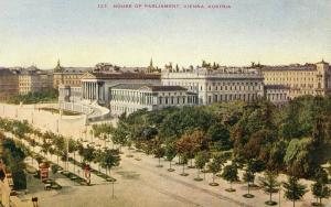 Austria - Vienna. House of Parliament
