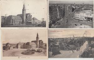 LUXEMBOURG RAILWAY STATIONS GARES TRAMS 18 CPA (mostly pre-1940)