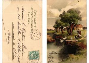 CPA Vom Lebenswege Meissner & Buch Litho Serie 1258 (730624)