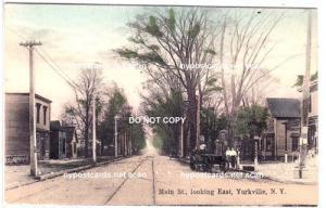 Main Street. Yorkville NY