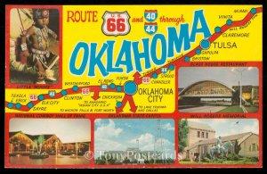 Route 66 Through Oklahoma
