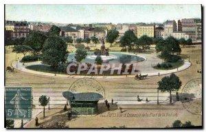 Postcard Old Paris View of the Place de la Nation Together
