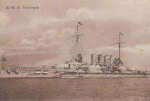 German Warship , 00-10s ; S.M.S. Thuringen