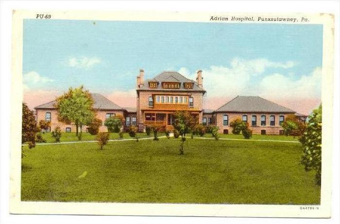 Adrian Hospital, Punxsutawney, Pennsylvania, PU-1944