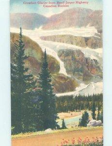 Pre-1980 NATURE SCENE Banff To Jasper Highway Alberta AB AD5505