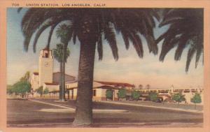 California Los Angeles Union Railroad Station