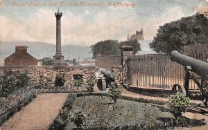 Royal Baslion and Walker Monument Londonderry United Kingdom, Great Britain, ...