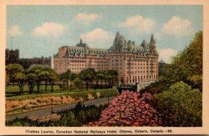 Canada Ottawa Canadian National Railways Hotel