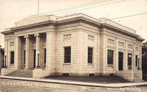 Barre Vermont~Federal Building~Post Office~1912 Real Photo Postcard~Beckley RPPC