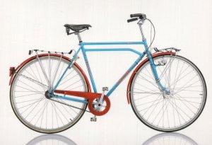 Gebruder Heidemann High Touring Super 30 Inch West German Bicycle Postcard