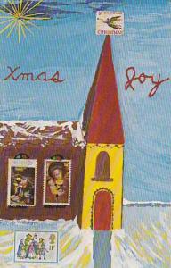 Xmas Joy, Stamp Church, Designed By Mike Boyar, 1980