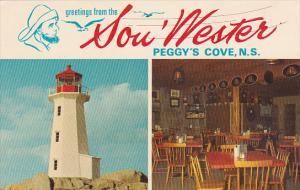 Canada Nova Scotia Peggys Cove Greetings From The South Wester