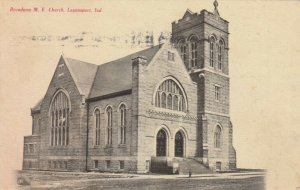 LOGANSPORT , Indiana , 1909 ; Broadway M.E. Church