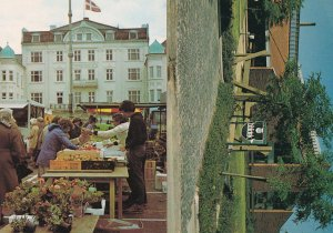 Odder Library Markets Denmark 2x Postcard s