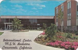 EAST LANSING, Michigan; International Center MSU Bookstore, Crossroads Cafete...