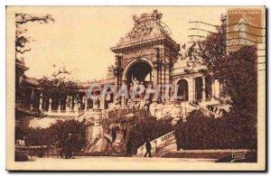 Old Postcard Marseille Longchamp Palace the main Reason