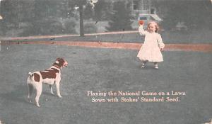 Stokes' Standard Seed Advertising 1911