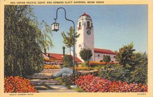 8425  ID Boise   Union Pacific Depot and Howard Platt Gardens