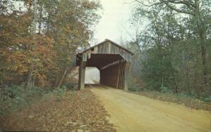 Pea Ridge Covered Bridge - Wacoochee Creek AL, Alabama
