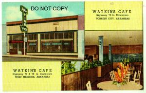 Watkins Cafe, Forrest City Ark