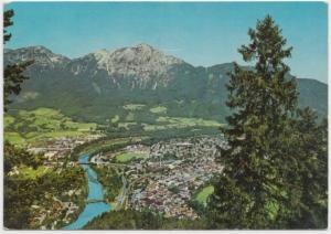 WELTKURORT BAD REICHENHALL, mit Hochstaufen 1771m, Germany, 1975 used Postcard