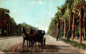 Mexico Argentina Buenos Aires Palermo Avenida Sarmiento