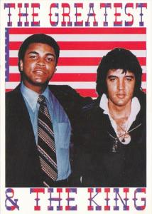 Elvis Presley The King & Muhammed Ali The Greatest
