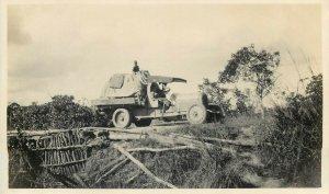 Belgian Congo real photo ethnic life automobile truck