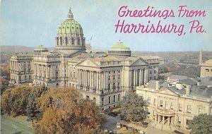 Greetings From Harrisburg, Pennsylvania PA