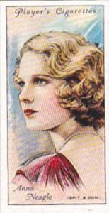Player Cigarette Card Film Stars 2nd Series No 33 Anna Neagle