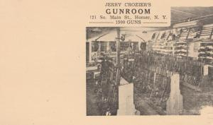 Jerry Crozier's Gunroom Advertisement - Homer NY - One Cent prepaid Postal Card