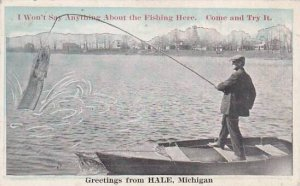 Michigan Hale Greetings From Hale