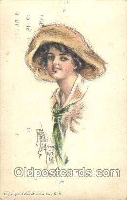 Pearl Eugenia Fidler,  Artist Signed Postcard Postcards American Girl No. 27 ...