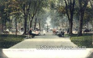 Jersey City Hamilton Park NJ 1908