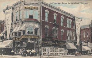 HUNTINGTON , Indiana, 1900-10s ; Drug Store