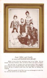 Berea Kentucky 1950s Postcard Paul Green's Wilderness Road Drama Isaac Miller