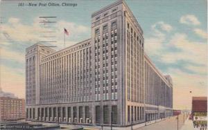 Illinois Chicago New Post Office 1947 Curteich