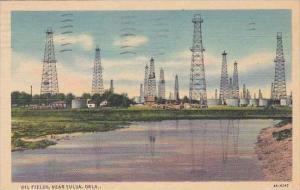 Oklahoma Tulsa Oil Fields 1938