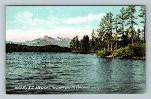 White Mountains NH-New Hampshire Silver lake, Madison, Chocorua Vintage Postcard
