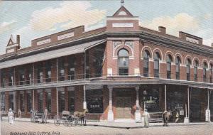 GUTHRIE, Oklahoma, 1900-10s; Oklahoma Building, Bank