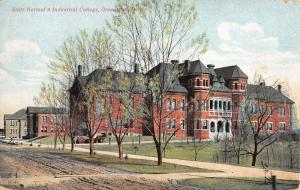 Greensboro North Carolina Normal Industrial College Antique Postcard K38807