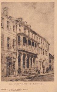 CHARLESTON, South Carolina, 1930-1940's; Dock Street Theatre