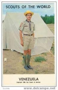 Boy Scouts of the World, VENEZUELA SCOUTS, 1968