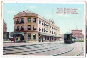 Electric Terminal, Inland Empire System, Spokane WA