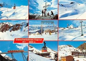 Gletscherbahnen Kaprun mit der groessten Standseilbahn Skizentrum Gipfel